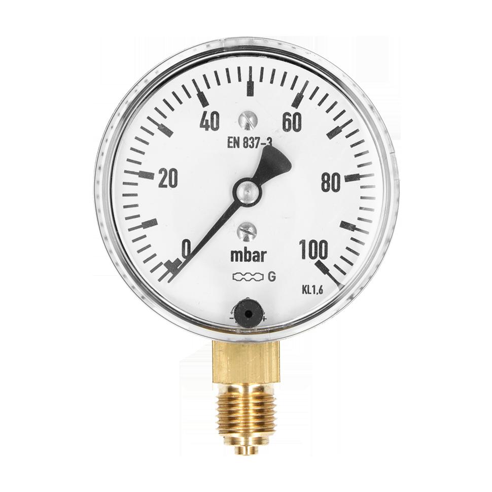 Niederdruck Manometer in Millibar