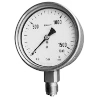PBX Bourdon Manometer
