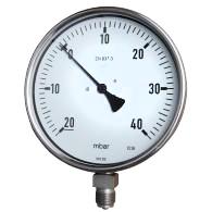 Standard-Druck Bereich von 4 bis 400 mbar