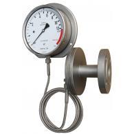 PFQ Sanitär Manometer mit Druckmittler und Fernrohrleitung