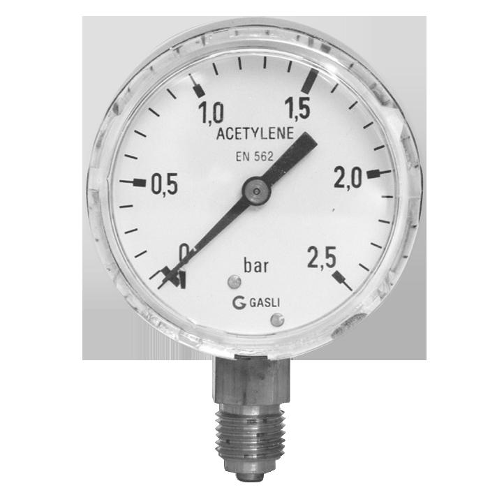 Acetylen Manometer