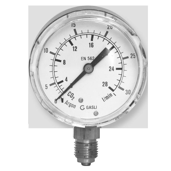 Argon CO2 Manometer
