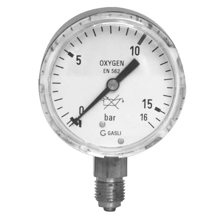 Sauerstoffmanometer